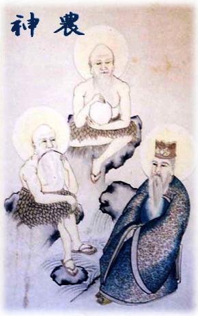 中国茶の神農